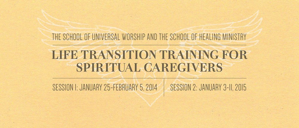 Life Transition Training for  Spiritual Caregivers