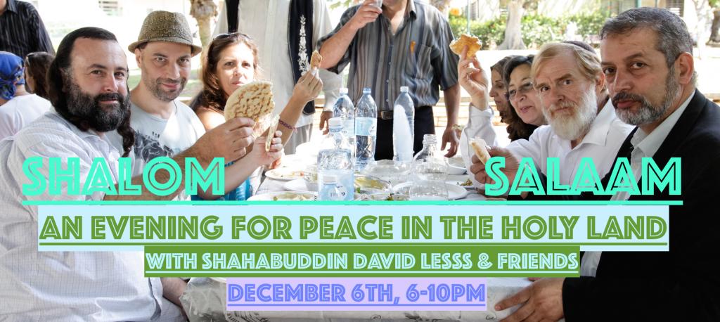 Shalom Salaam Header