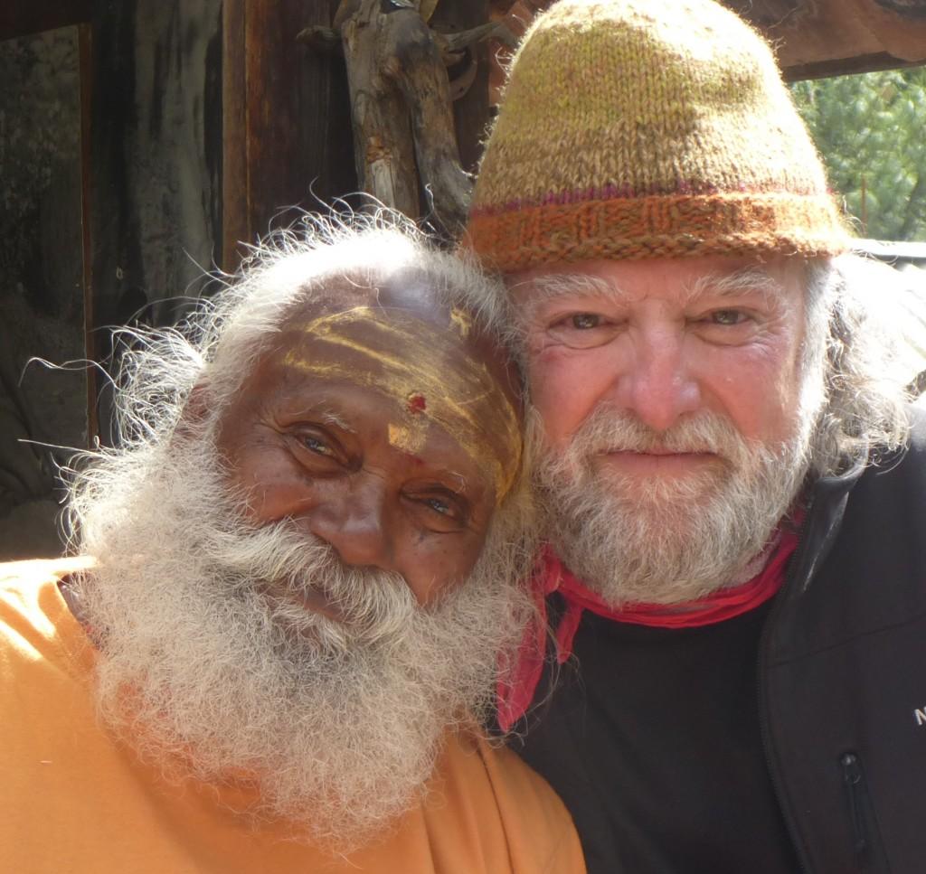 Shahabuddin & Swamiji in Gangotri 2013