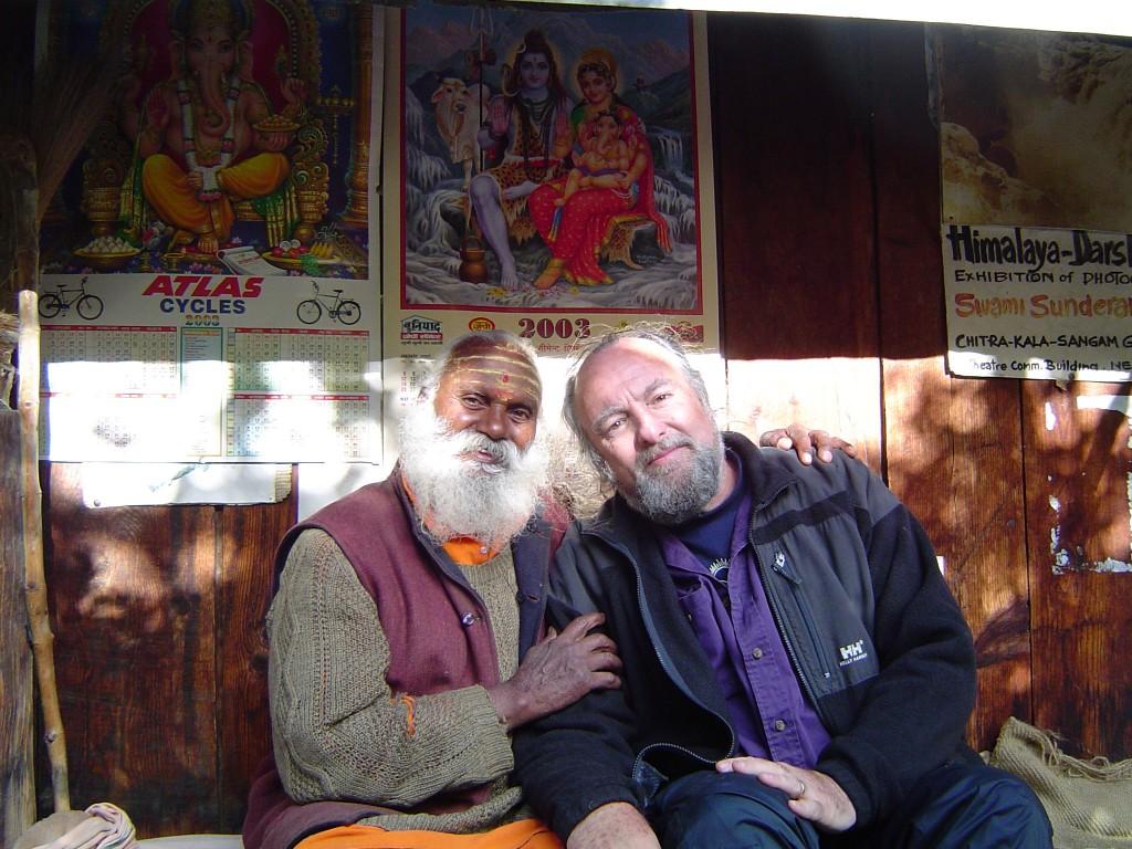 Swami Ji and Shahabuddin David Less from a Tour to Gangotri in 2006.