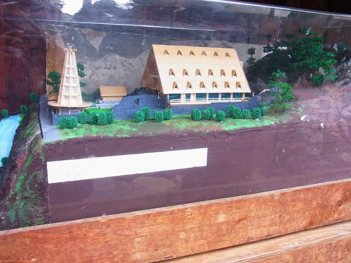 Model of the Meditation Tower and Guest House / Gallery