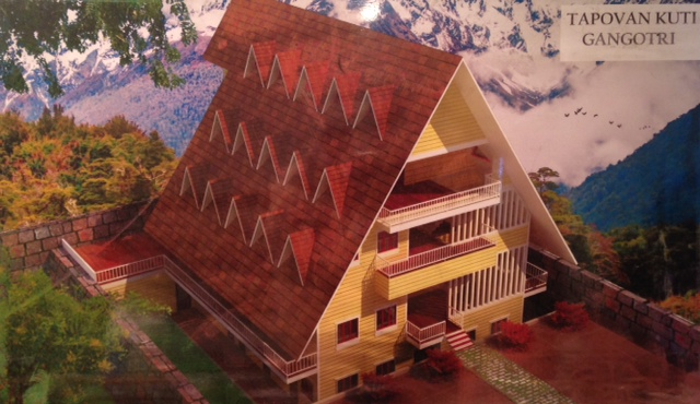 Model of the Guest House / Gallery.